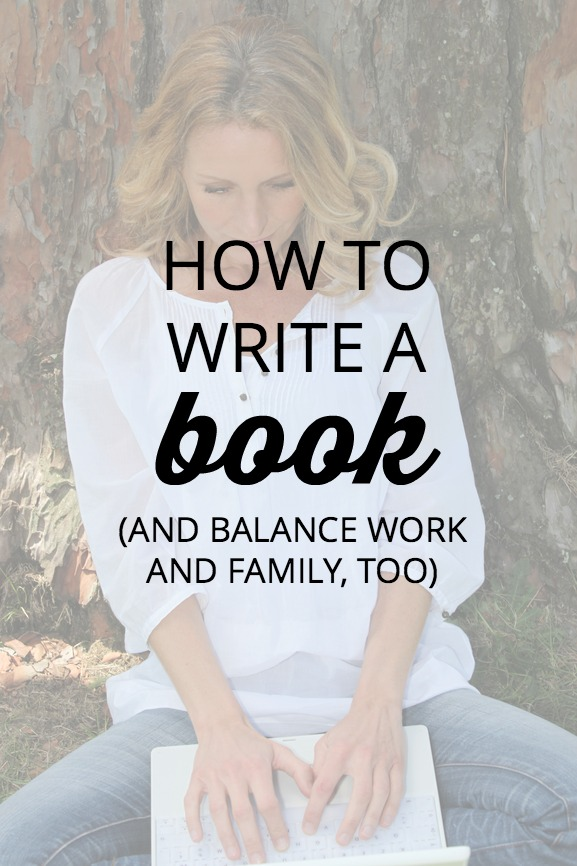 Working moms have so much on their plates. What if writing a book is a dream you're determined to make happen? See how to make time for a hobby you love.