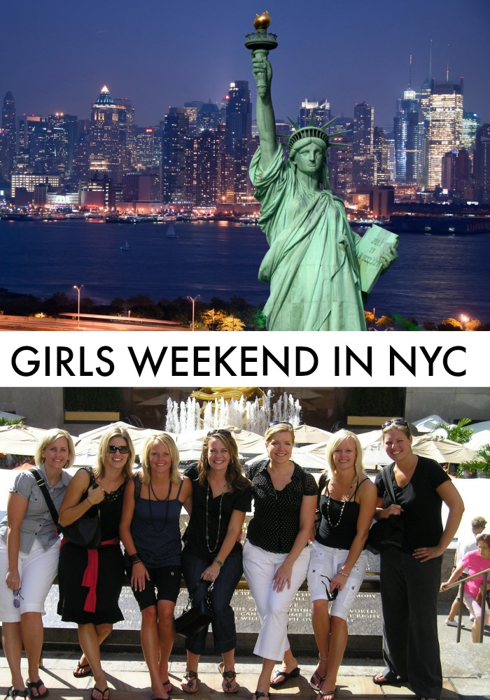 girls weekend getaway in nyc. Black Bedroom Furniture Sets. Home Design Ideas