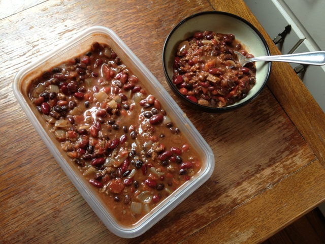 Chili is a perfect busy-mom recipe for fall.
