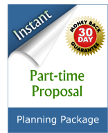 Do you want a part-time schedule at your current job? Here's the fastest way to get your proposal ready.