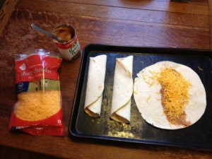 Quick and Easy Burritos