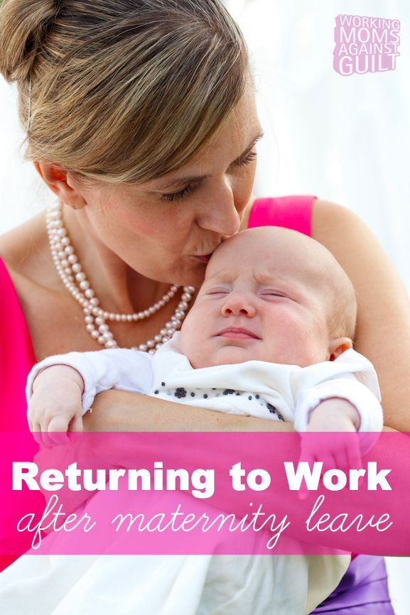 Returning to work after maternity leave is a difficult and emotional challenge. Here are some tips for navigating back into the working world after a baby.