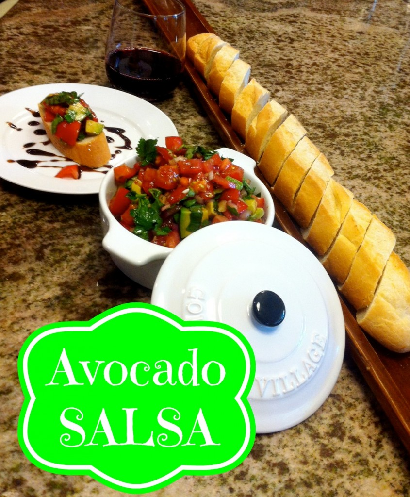Avocado Salsa - Working Moms Against GuiltWorking Moms Against Guilt