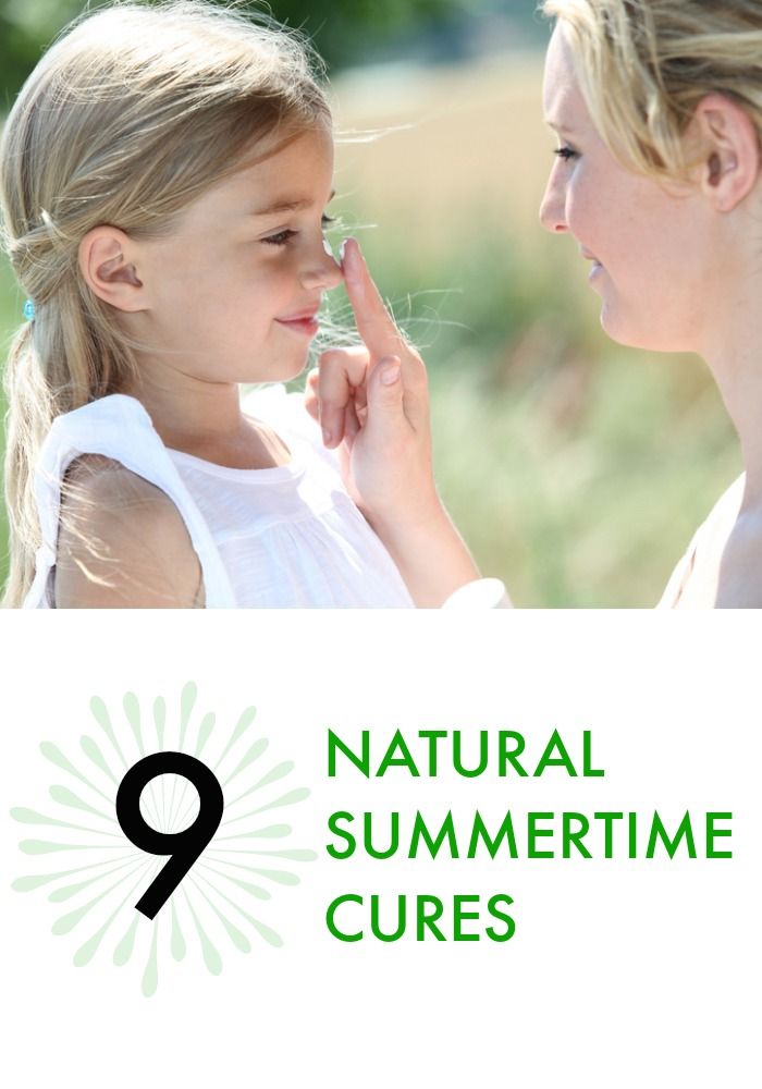 Summer means bug bites, sunburns and the like. Here's how to skip the chemicals – and the side-effects – and check out 9 natural cures.