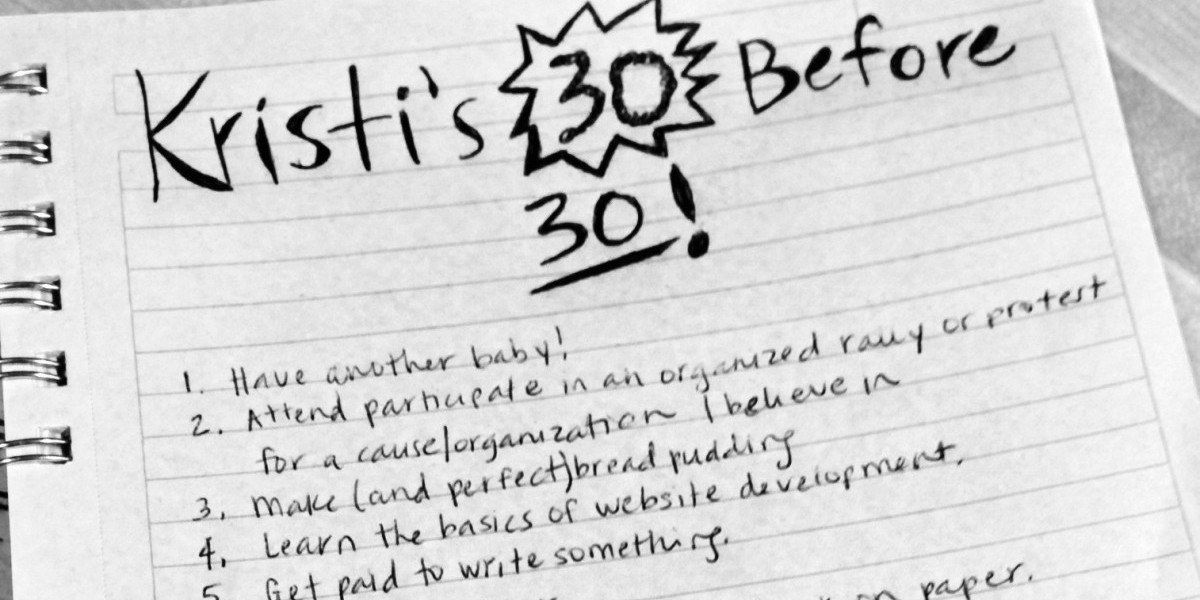 It seems like those 30 before 30 lists are everywhere right now. Get inspired for your own milestone bucket list with ideas from our birthday list.