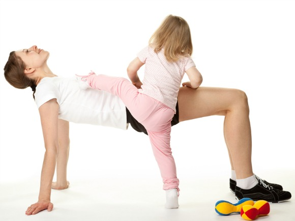 No time? Too busy? Fitness for busy moms is tough, but kinesiology professor Dr. Anne Larson has a unique plan that might help you get active.