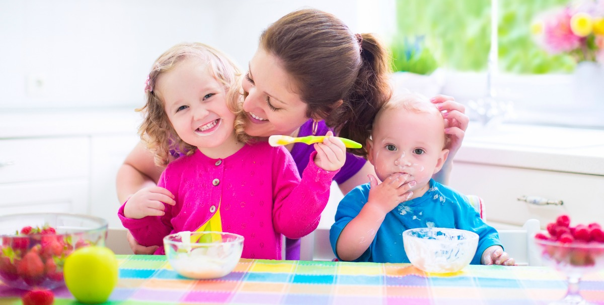 "Had enough ""whine"" with your dinner? Check out these four healthy recipes for kids that will please picky palates and nourish their growing bodies, too."