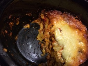 I overcooked this by an hour, typically it would not look burned on the edges