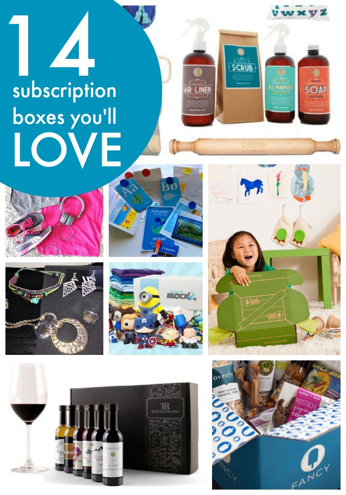 Looking to spice things up this summer? Check out these 14 subscription boxes full of food, fashion, fun and discovery for you and your kids.