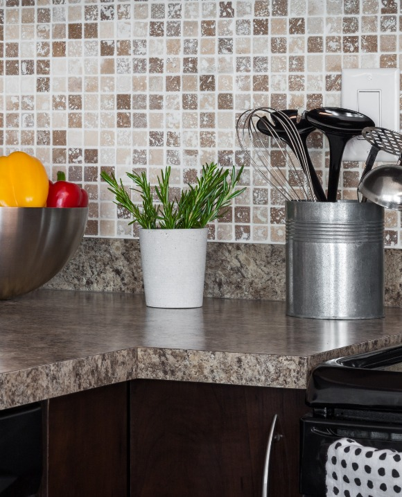"""Create a """"magic triangle"""" in your kitchen between the stove, refrigerator, and sink and keep frequently used kitchen items there."""