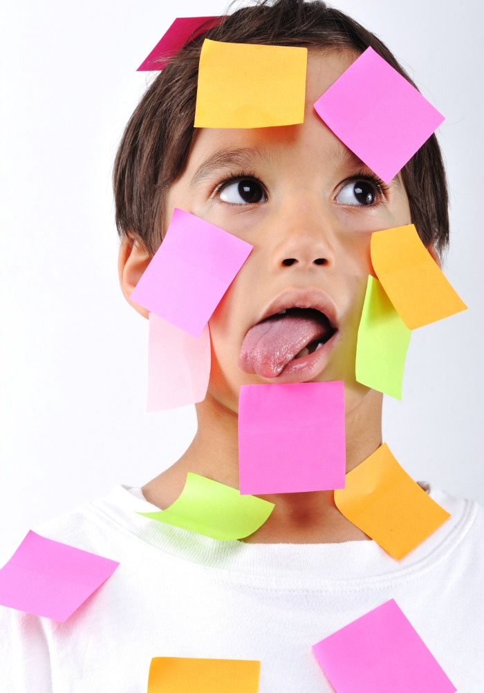 Is your to-do list keeping you from enjoying time with your kids? Step away from the post-it notes ...