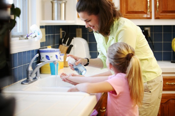 Parents can prevent their children from getting the virus by making them wash their hands frequently and drink plenty of fluids.