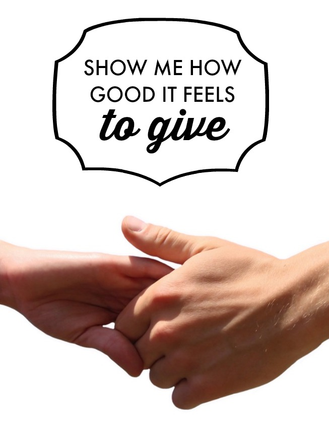 By showing your children the positive vibes of giving to others, you're giving them the gift of self-esteem and loving themselves. Click for more tips!