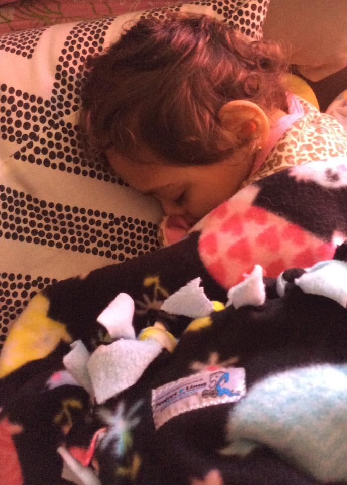 "Project Linus provides love, a sense of security, warmth and comfort to children who are seriously ill, traumatized, or otherwise in need through the gifts of new, handmade blankets and afghans, lovingly created by volunteer ""blanketeers."""