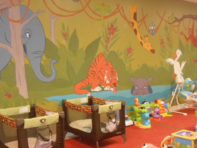 In addition to having wonderful staff, the center my children attend also has some awesome murals.