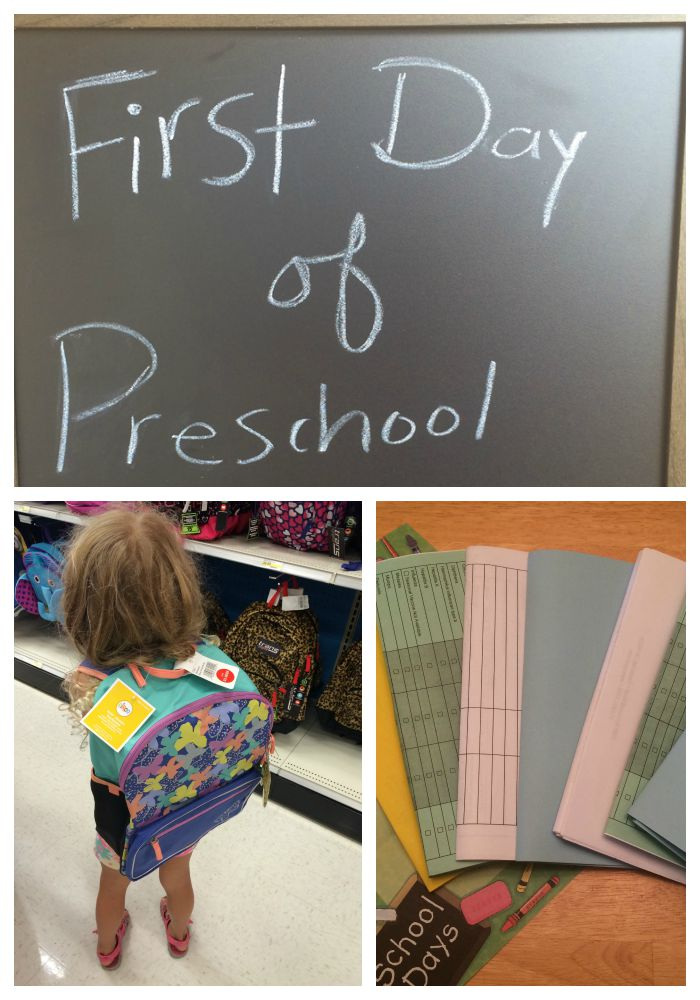 Your child's very first day of school is a BIG deal. Here's how parents can attempt to gain some level of control while preparing for that major milestone in your kiddo's (and your) life.