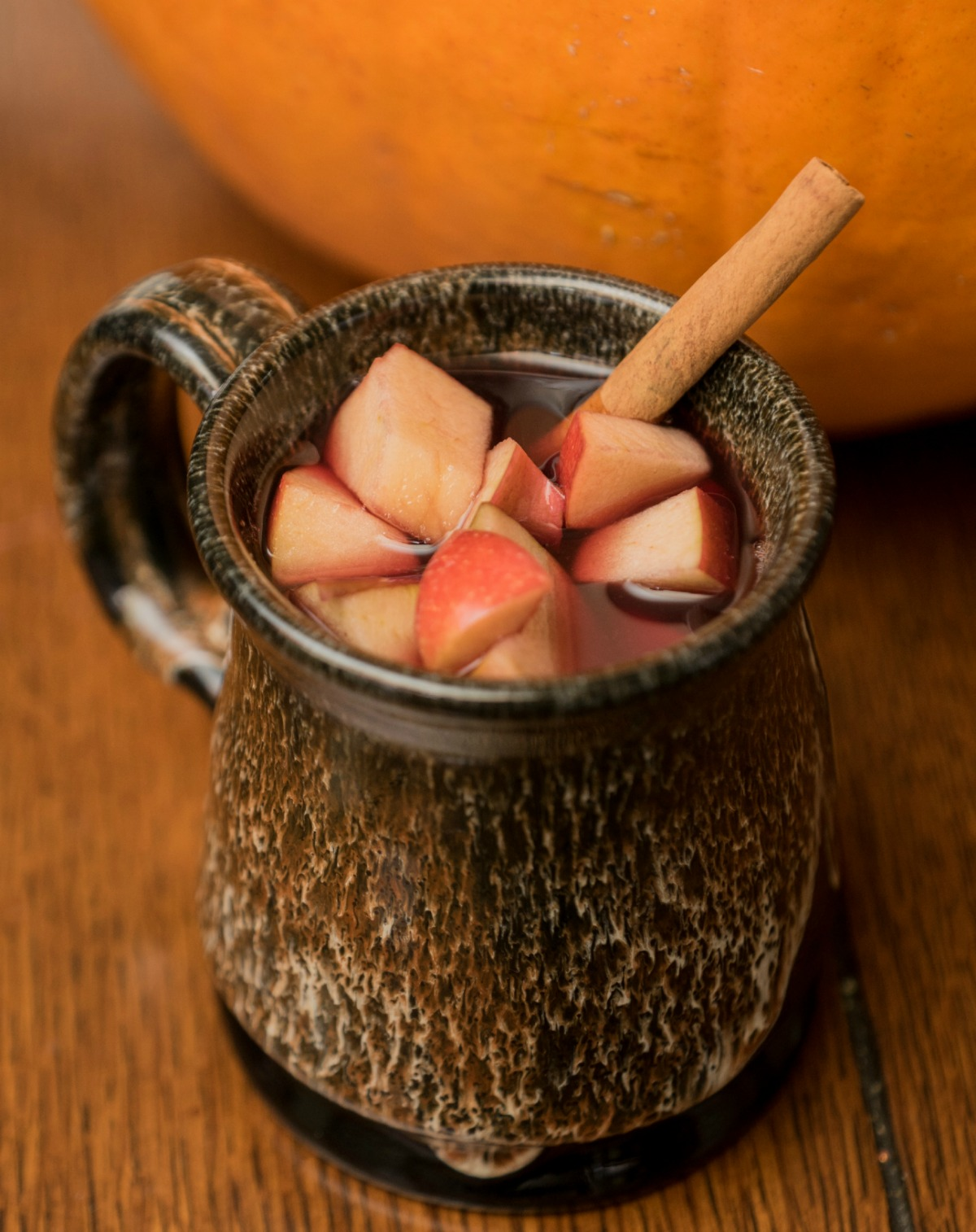 For your next fall get-together or Thanksgiving feast, serve up this pumpkin infused sangria to bewitch your guests with the warm, spiced flavors of autumn.