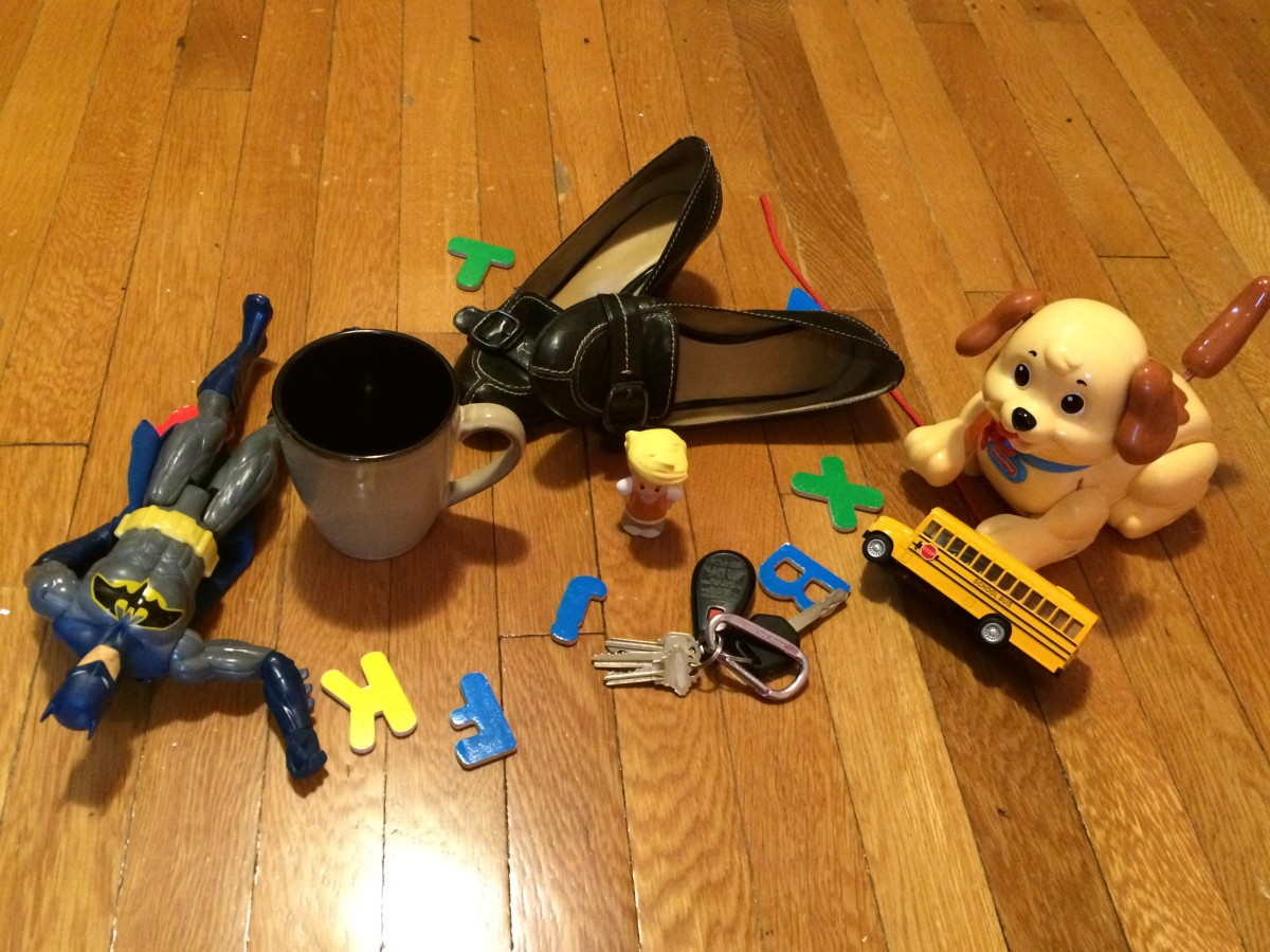 Grab a die and whatever balls of lint you can find for game pieces to see if you have what it takes to survive the working mom morning routine.