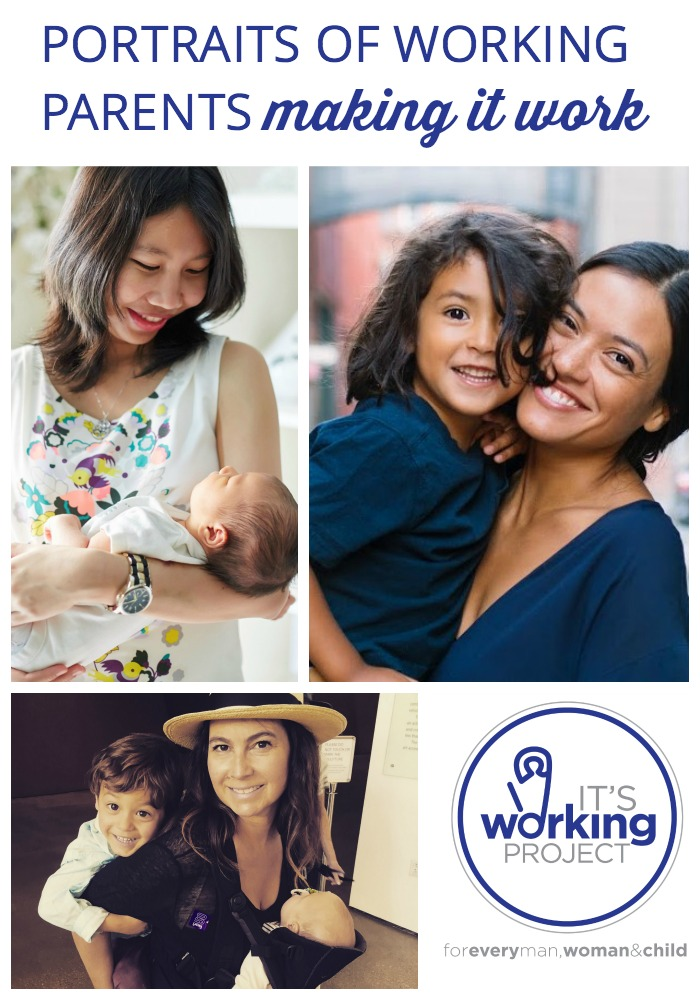 Wondering what it's like for other moms and dads to return to work after baby? Check out the It's Working Project, with hundreds of portraits reflecting the back-to-work experience for American parents.