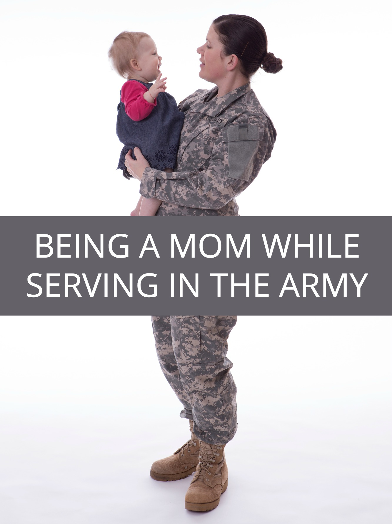 Imagine being the mother of four and being deployed to a war zone as a soldier ... see what life is really like for moms serving on active military duty.