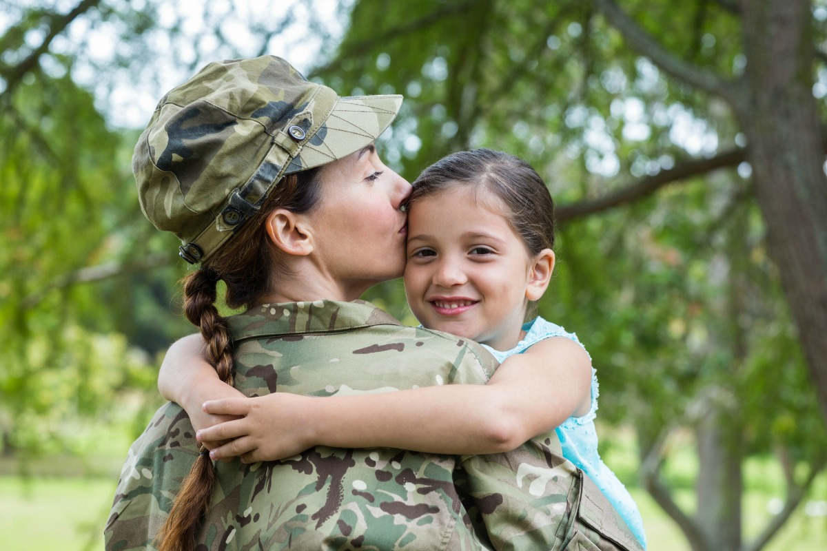 Wonder what it's really like to be a working mom on active military duty? Read this heartfelt story of an Army drill sergeant and mother of four.