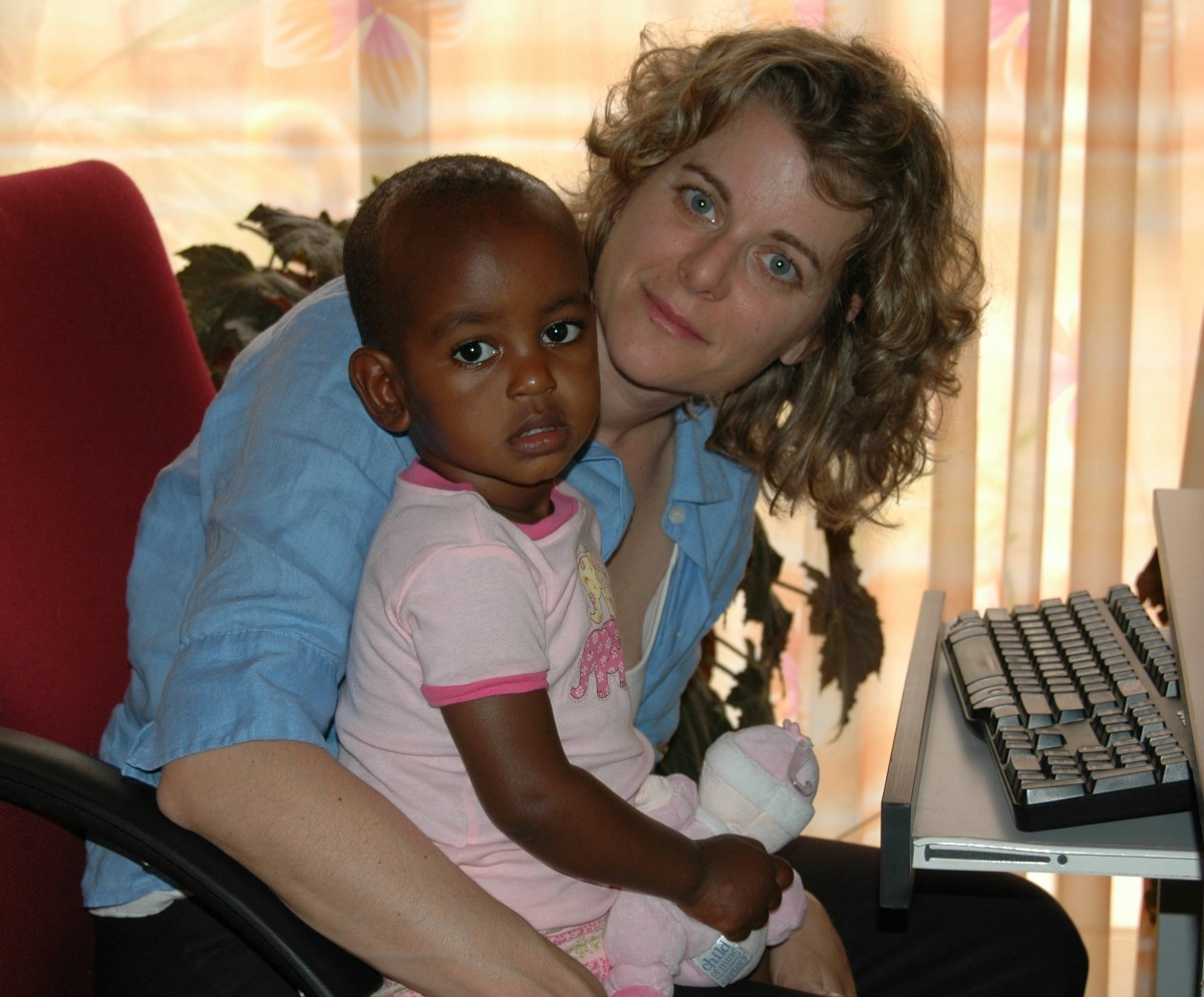 From her adopted Ethiopian daughter, a privileged American mom learned the crucial role of educating girls in world peace and saving our future.