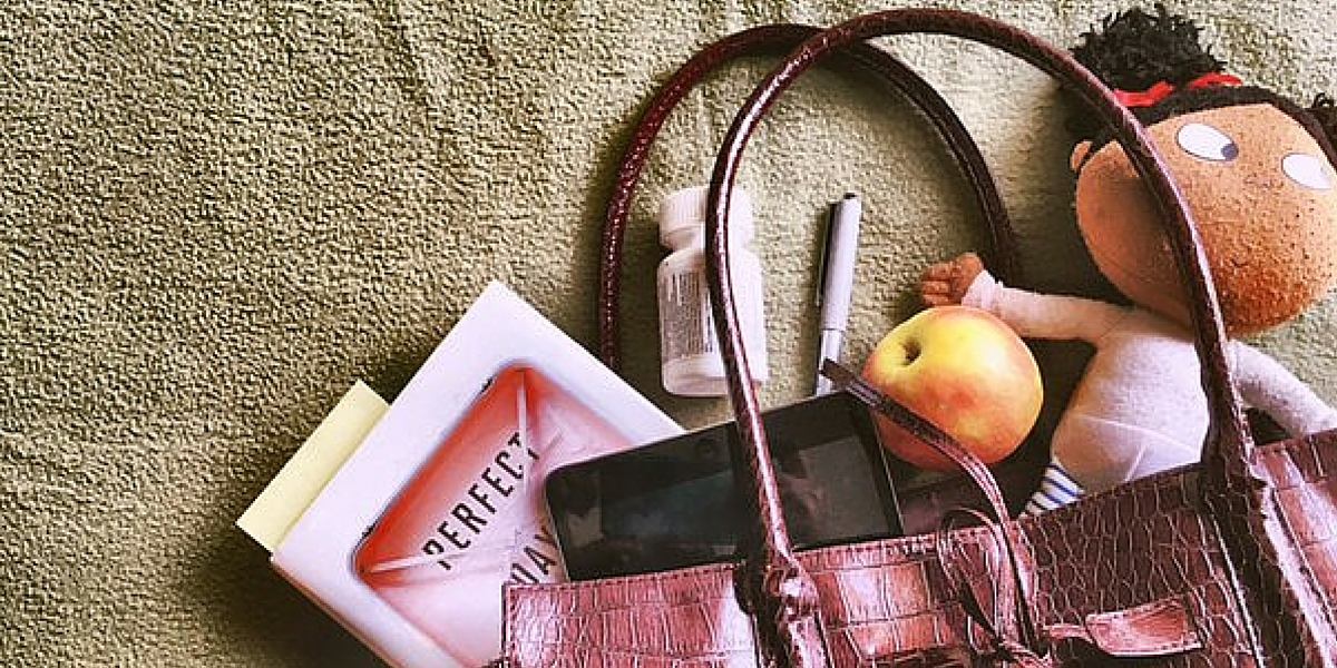Who knows more about bags and baggage than working moms? Let's talk about how to organize and find the perfect bag to suit all your needs!