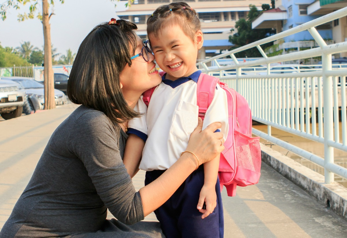 """Every year, I kept thinking """"school age will be easier"""" for me to balance work and kids. Now with a soon-to-be kindergartner, it seems """"easy"""" never comes."""
