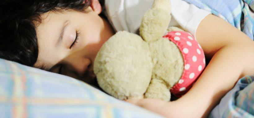 Cute little kid sleeping