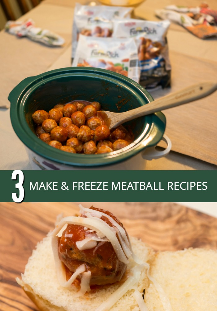 Make these slow cooker meatball recipes in MINUTES, and freeze 'em till you need 'em. So easy and yummy!