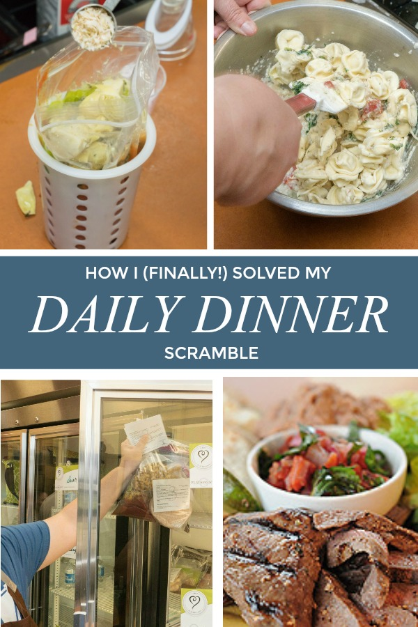 "What if you never had to worry about ""what's for dinner?"" again? Check out this amazing solution for working moms to put homecooked meals on the table, guilt-free, stress free!"