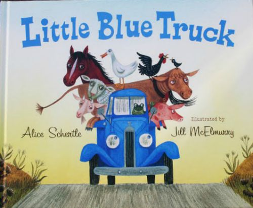 Brimming with bright colors, sounds, and city energy, this best-selling series of board books includes Little Blue Truck and Little Blue Truck Leads the Way. Click to see our full list of the best books for kids, grouped by age.