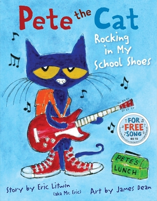 This super-fun series features a cool black cat named Pete who loves coffee and drives a VW bus, among other things. Click to see our full list of the best books for kids, grouped by age.