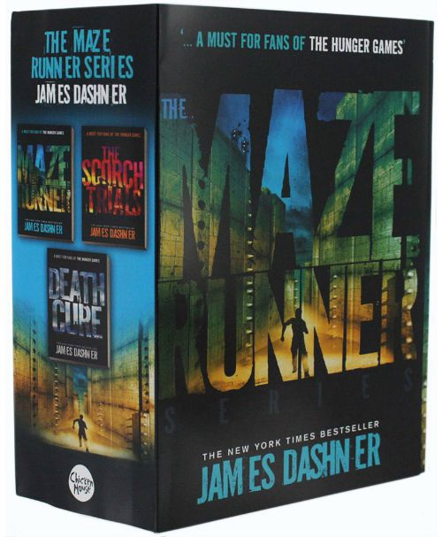 The Maze Runner series by James Dashner: Another exciting series for Hunger Games fans, the Maze Runner books follow Thomas, who wakes up one day and the only thing he can remember is his name. Click to see our full list of the best books for kids, grouped by age.