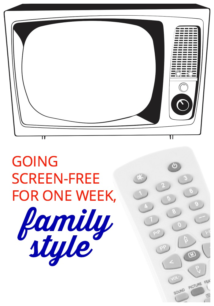 What if your family tried no TV for a week? We did it, and discovered that going screen-free for seven days was easier than we thought—even fun! Here's why.