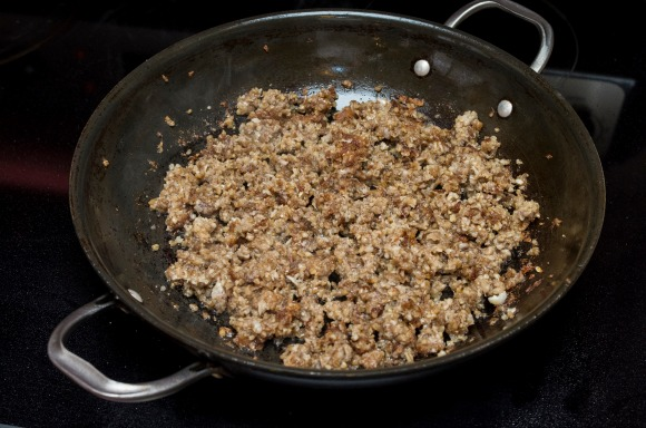 A Cincinnati specialty, goetta is a tasty mixture of beef, pork sausage, oats, onions and spices--sizzled up in a pan. Here's my grandma's secret recipe.