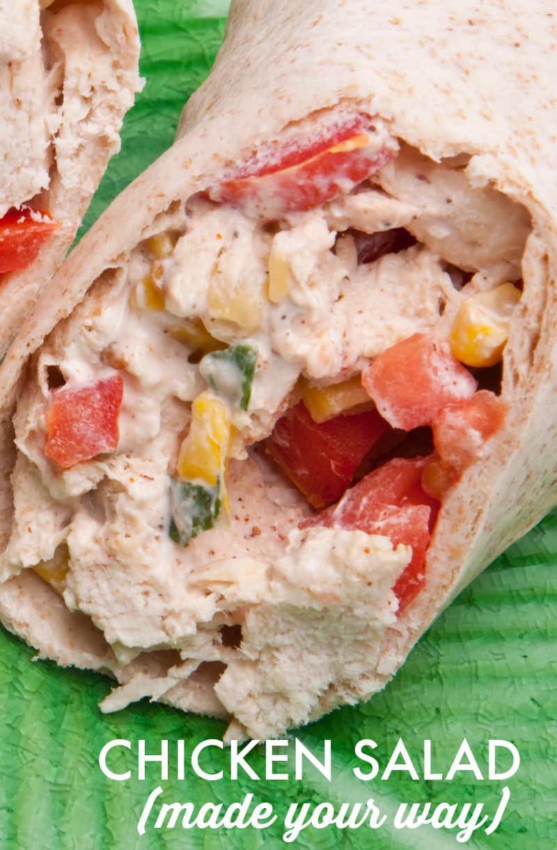 Got leftover chicken from the grill? Here are lots of ways you can turn that into tasty chicken salad for sandwiches and snacks. Make it your way!