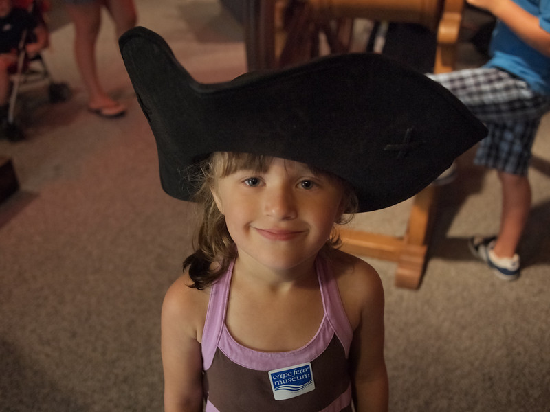 The Children's Museum in Wilmington, NC, is a MUST. Our daughter had a great time painting, pretending she was a pirate, shopping for groceries and appearing on her own TV talk show.