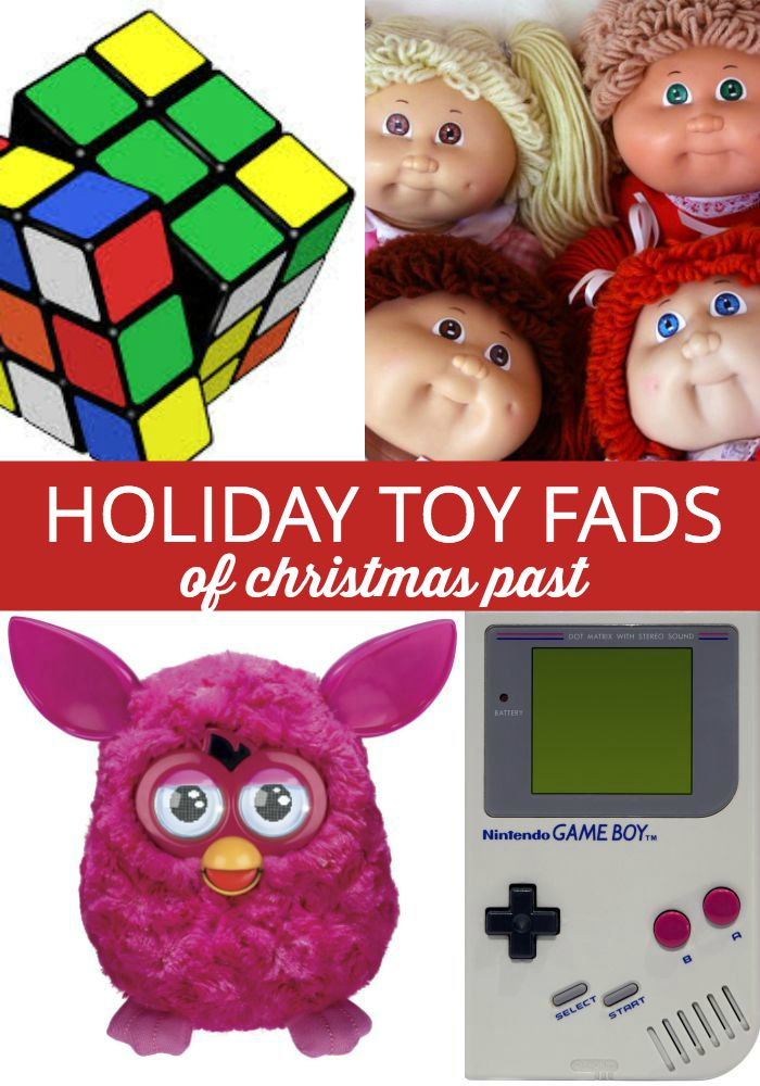 Toys We Got For The Holidays : Holiday toy fads ever gotten sucked in