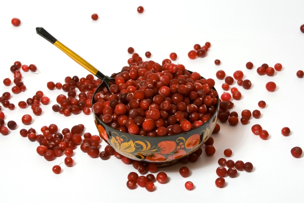 Fresh cranberries mix with sweet jello to create an addictive side.