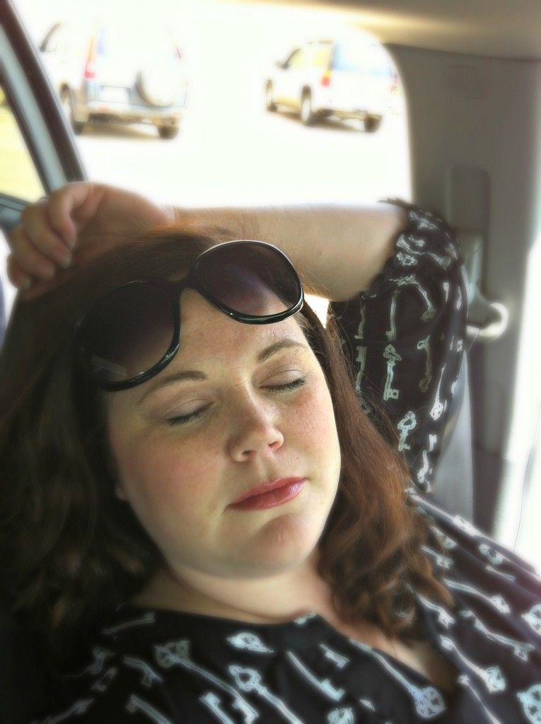 Napping in the Van: A Tip for Busy Mothers