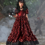 Victorial Goth Girl Costume