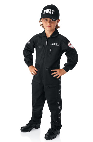 SWAT Team Halloween Costume
