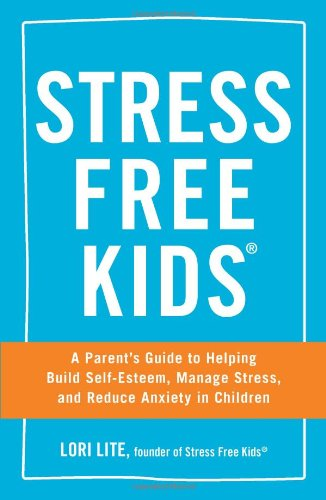 Stress Free Kids is an easy-to-read book that's full of tips for different types of stress your children might encounter. Click for a full book review.