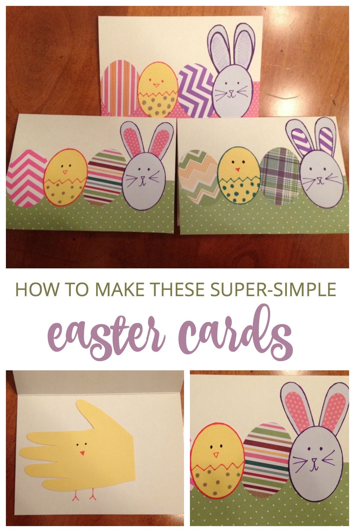 Easy easter cards how cute are these cards they are so easy see what youll m4hsunfo
