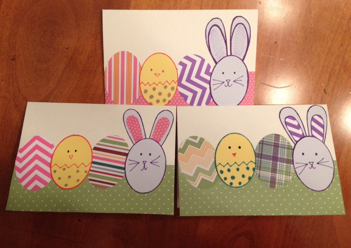 Looking for a super-simple, quick DIY project to do with your kids for Easter? Try these easy Easter cards, and make 'em as unique and creative as you like.