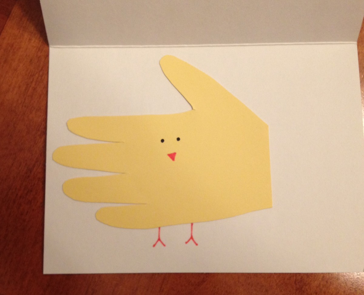 Easy easter cards looking for a super simple quick diy project to do with your kids for m4hsunfo