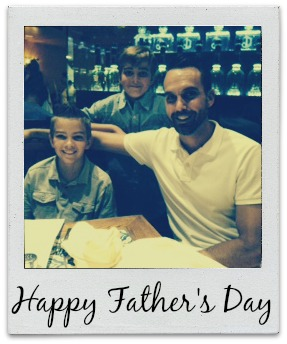 Celebrating Dads: These. Are. The. Days…