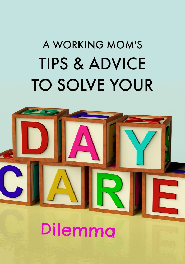Facing a daycare dilemma? Here's what you need to know (and why you should STOP feeling guilty about it) from a working mom who's been there.