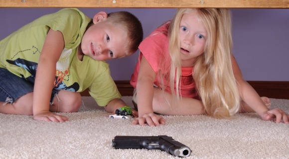 Ask Jo Frost: Gun Safety in the Home